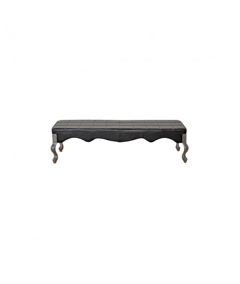 Black waiting sofa